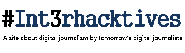 Digital journalism by tomorrow's digital journalists